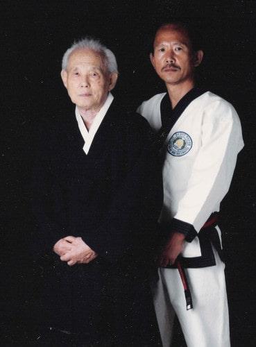 Founder Kee Hwang and H.C. Hwang Kwan Jang Nim