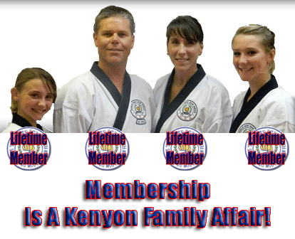Laural, Daymon, Vicki, Carli Kenyon, Lifetime Members