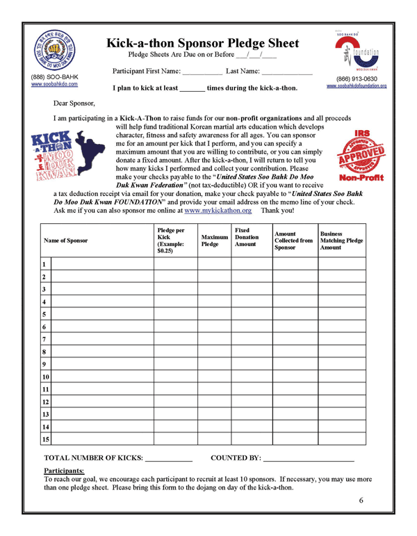 pledge sheets for fundraising template 9 charity pledge form final walkathon