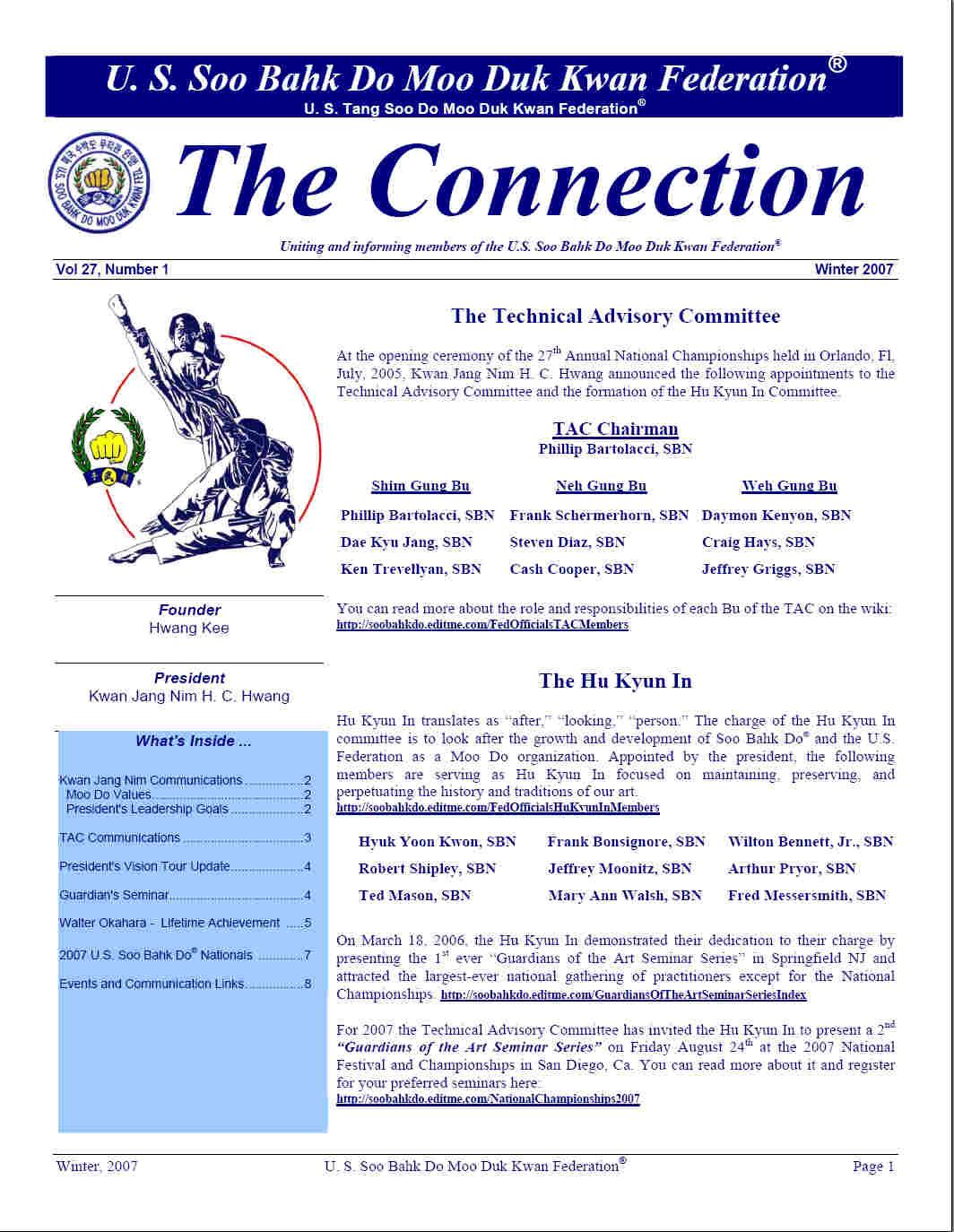 2007 Winter Edition