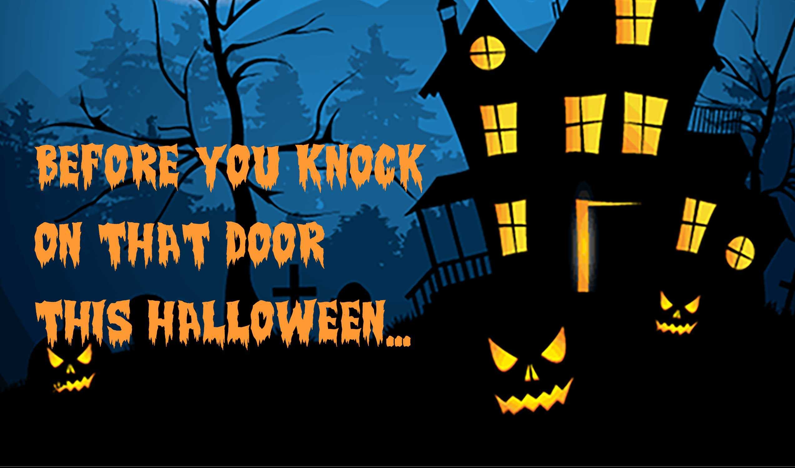 Trick or Treater Safety School