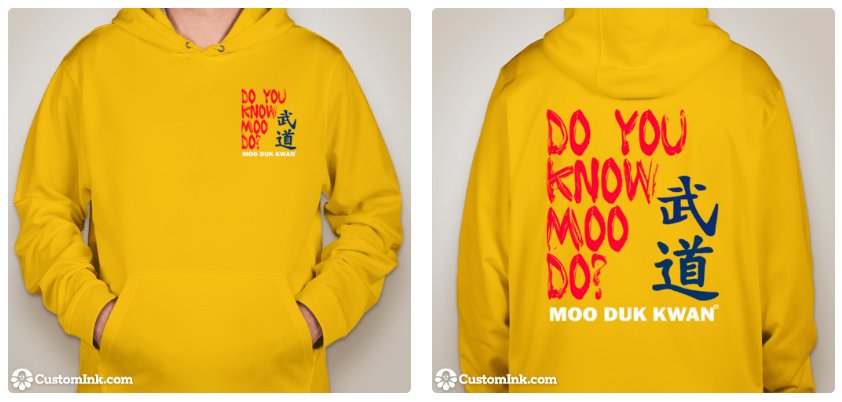 Official Licensed Moo Duk Kwan® Apparel January 2017