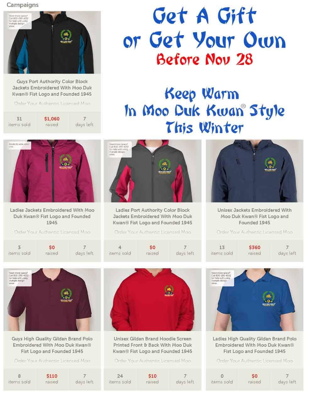 Order online before November 28