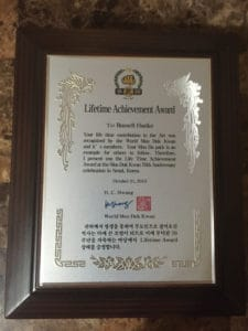 Moo Duk Kwan® Lifetime Achievement Awards