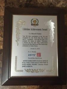 Moo Duk Kwan® Lifetime Achievement Awards