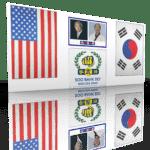 Banner Flags Photos Usa 3d