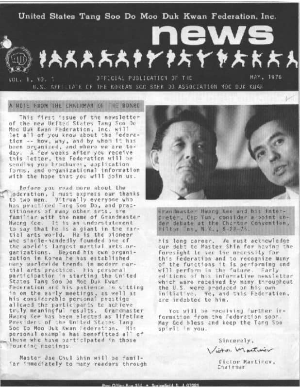 thumbnail of 1976 05 Usa Moo Duk Kwan Federation Newsletter