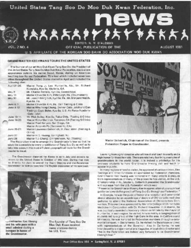 thumbnail of 1981 08 Usa Moo Duk Kwan Federation Newsletter
