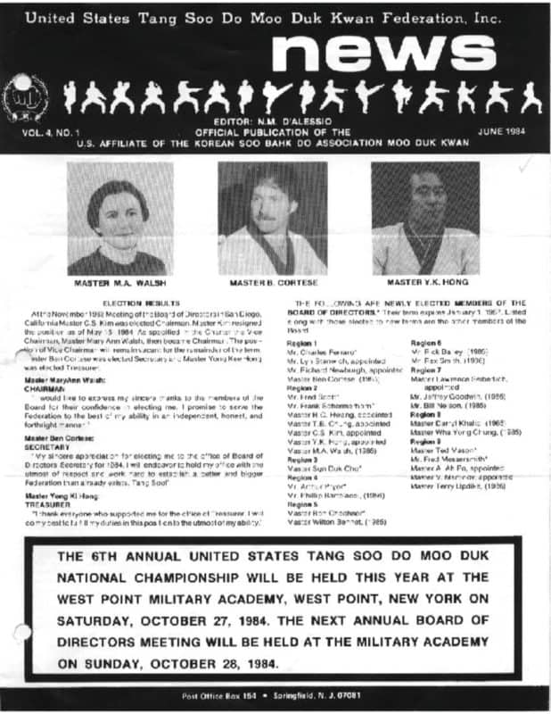 thumbnail of 1984 06 Usa Moo Duk Kwan Federation Newsletter