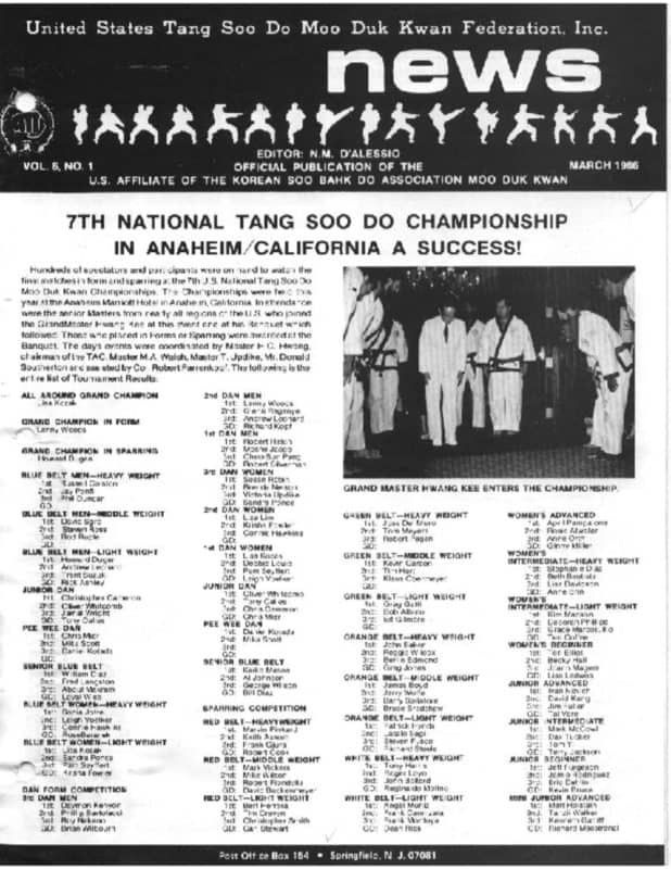 thumbnail of 1986 03 Usa Moo Duk Kwan Federation Newsletter