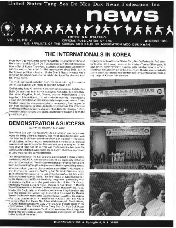thumbnail of 1989 08 Usa Moo Duk Kwan Federation Newsletter