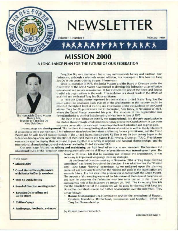 thumbnail of 1990 02 Usa Moo Duk Kwan Federation Newsletter