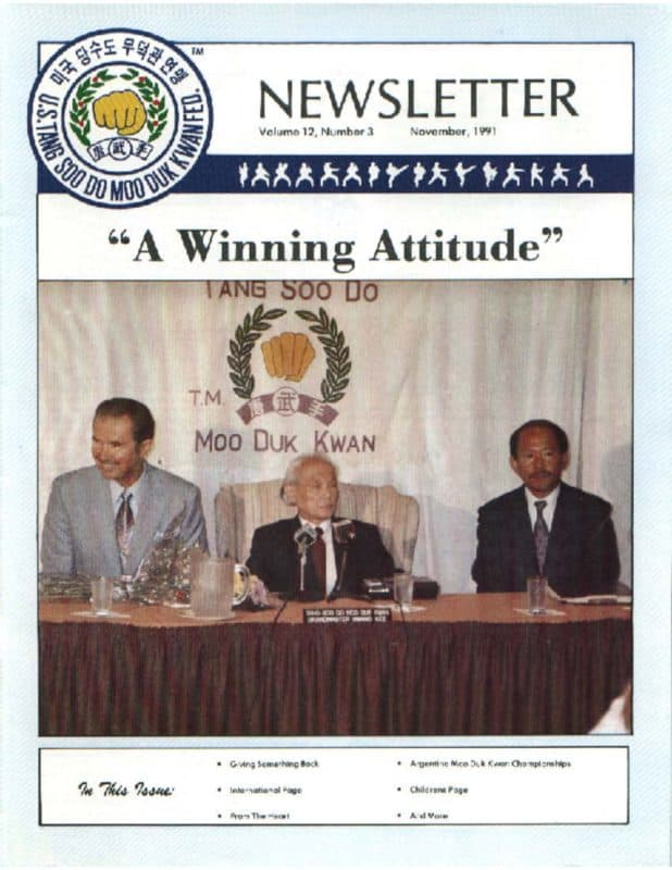 thumbnail of 1991 11 Usa Moo Duk Kwan Federation Newsletter