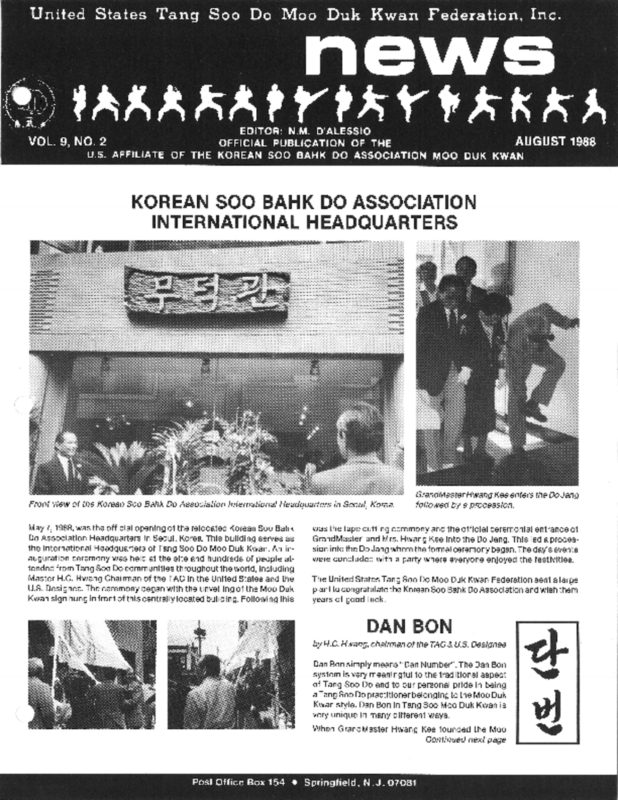 thumbnail of 1998 08 Usa Moo Duk Kwan Federation Newsletter