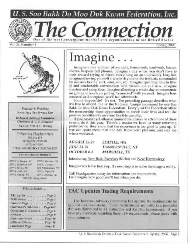 thumbnail of 2000 07 Usa Moo Duk Kwan Federation Newsletter