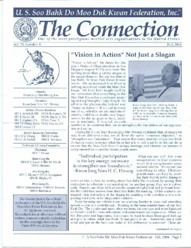 thumbnail of 2004 09 Usa Moo Duk Kwan Federation Newsletter