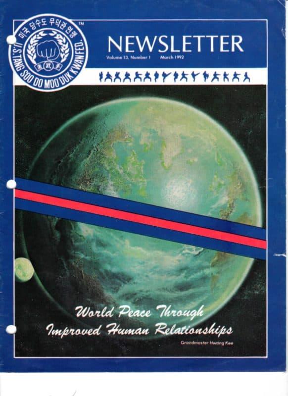 thumbnail of 1992 03 Usa Moo Duk Kwan Federation Newsletter