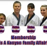 Membership Is A Kenyon Family Affair!