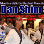 Region 9 Dan Test April 19th & 20th Lomita, Ca